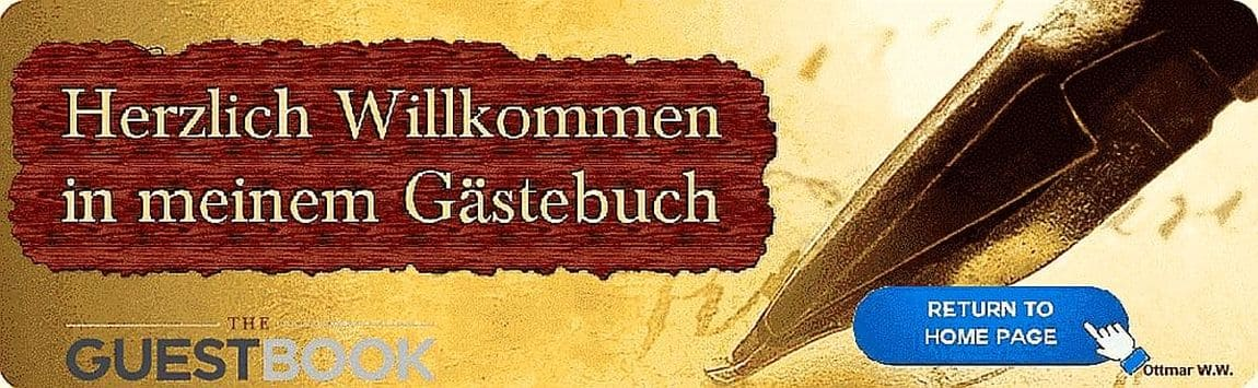Gästebuch Banner - verlinkt mit http://www.schoenes-oberbayern.de